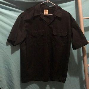 Dickies Men's Button Down Shirt SZ L